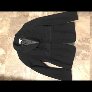 Nine West black lined blazer size 4